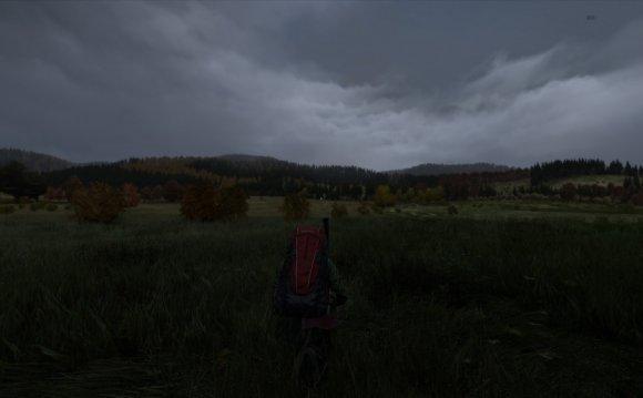 Пейзаж Черноруссии в DayZ