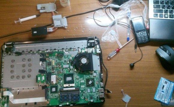 Чистка компьютеров и ноутбуков