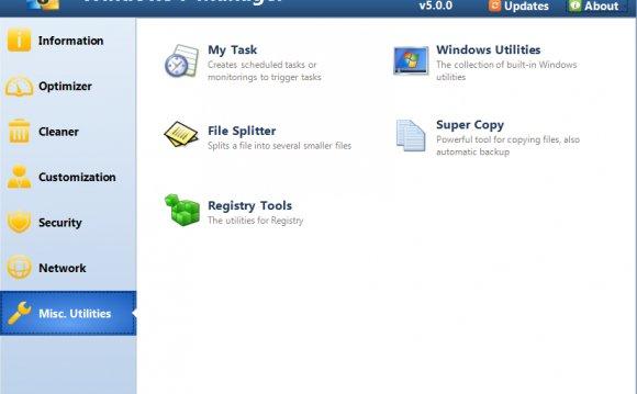 Windows 7 Manager rus